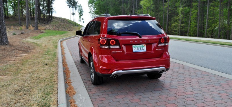 Road Test Review - 2014 Dodge Journey Crossroad - We Would Cross the Road to Avoid 18