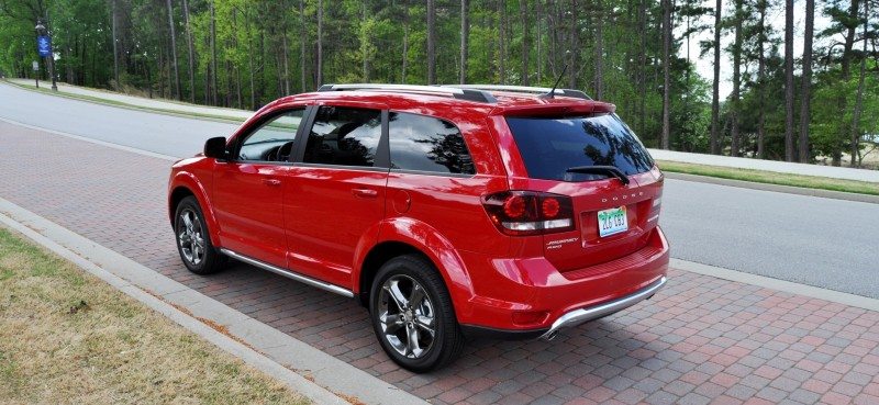 Road Test Review - 2014 Dodge Journey Crossroad - We Would Cross the Road to Avoid 20