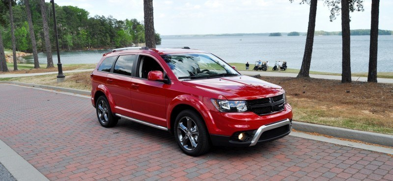 Road Test Review - 2014 Dodge Journey Crossroad - We Would Cross the Road to Avoid 4