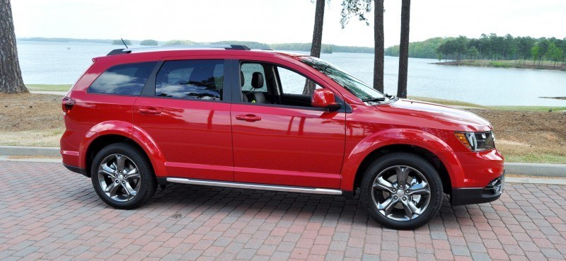 Road Test Review - 2014 Dodge Journey Crossroad - We Would Cross the Road to Avoid 7