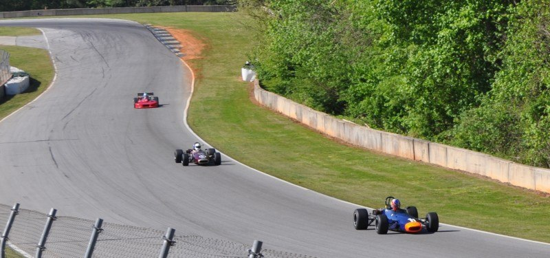The Mitty 2014 at Road Atlanta - Monoposto Formula and Classic - Group 4A and 4B 41