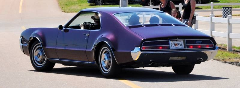 The Mitty's Most Curious Parade Lapper - 1966 Oldsmobile Toronado in Riddler Purple 10