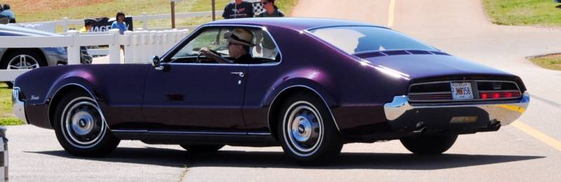 The Mitty's Most Curious Parade Lapper - 1966 Oldsmobile Toronado in Riddler Purple 11