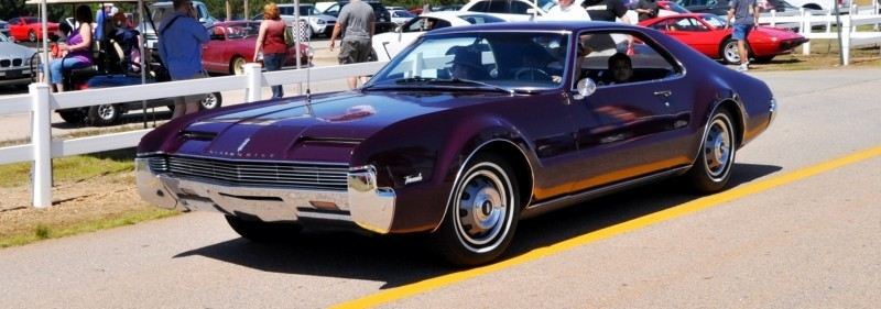 The Mitty's Most Curious Parade Lapper - 1966 Oldsmobile Toronado in Riddler Purple 3