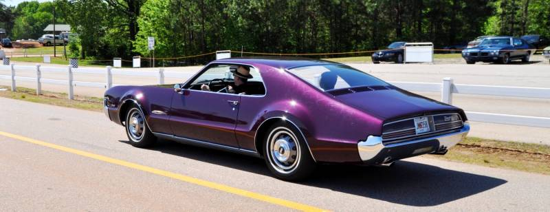 The Mitty's Most Curious Parade Lapper - 1966 Oldsmobile Toronado in Riddler Purple 6