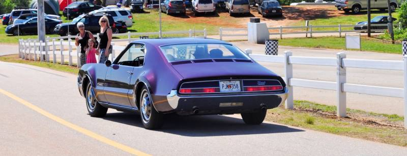 The Mitty's Most Curious Parade Lapper - 1966 Oldsmobile Toronado in Riddler Purple 7