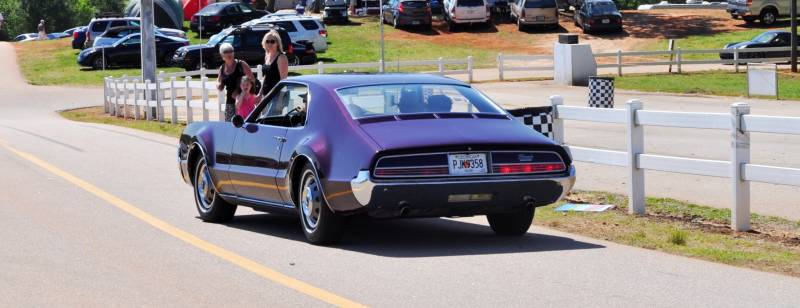 The Mitty's Most Curious Parade Lapper - 1966 Oldsmobile Toronado in Riddler Purple 8