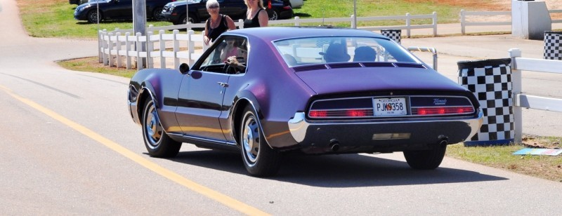 The Mitty's Most Curious Parade Lapper - 1966 Oldsmobile Toronado in Riddler Purple 9
