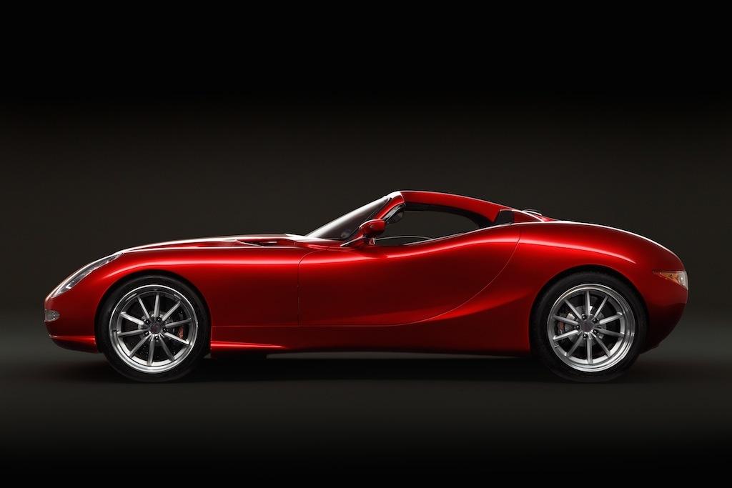 3 7s 2014 Trident Iceni Magna Fastback Supercar