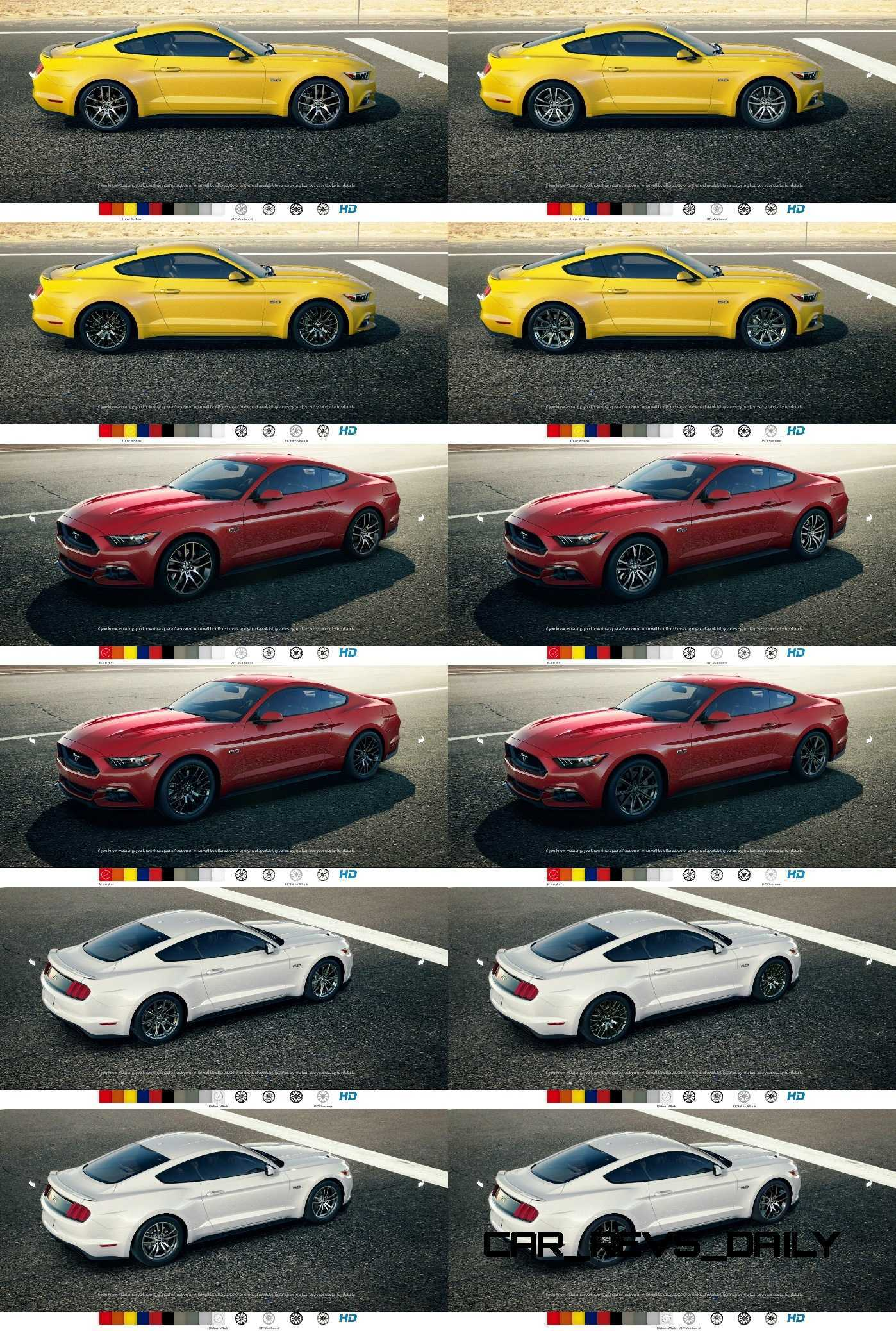 2015 Ford Mustang Colors and Wheel Visualizer
