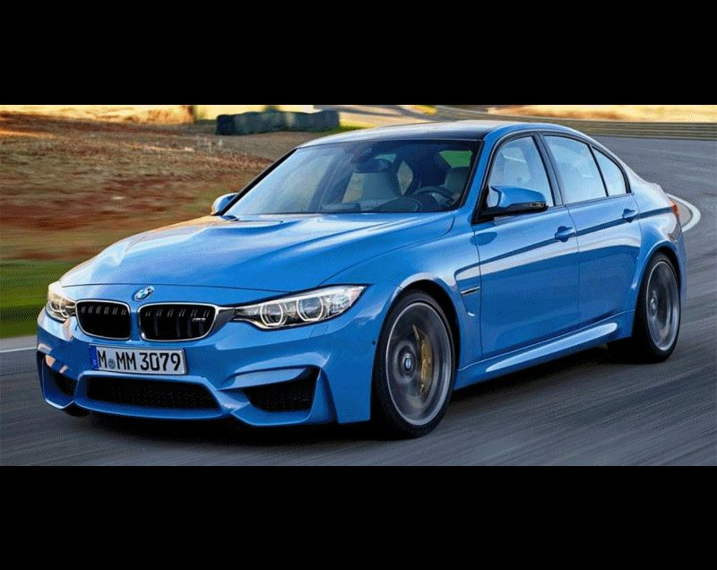 2014 BMW M3 Animated GIF CarRevsDaily