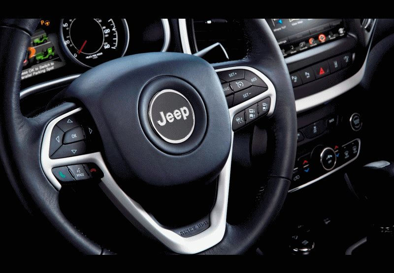 2014 Jeep Cherokee - Interior GIF
