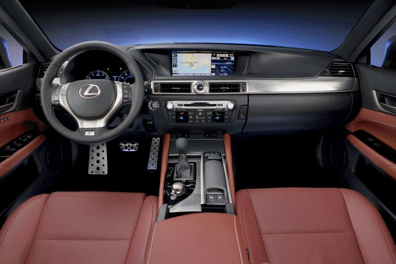 2014 Lexus GS - Interiors Animated GIF