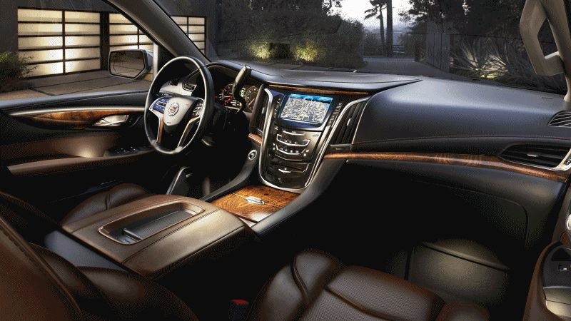2015 Cadillac Escalade Interior Animation GIF