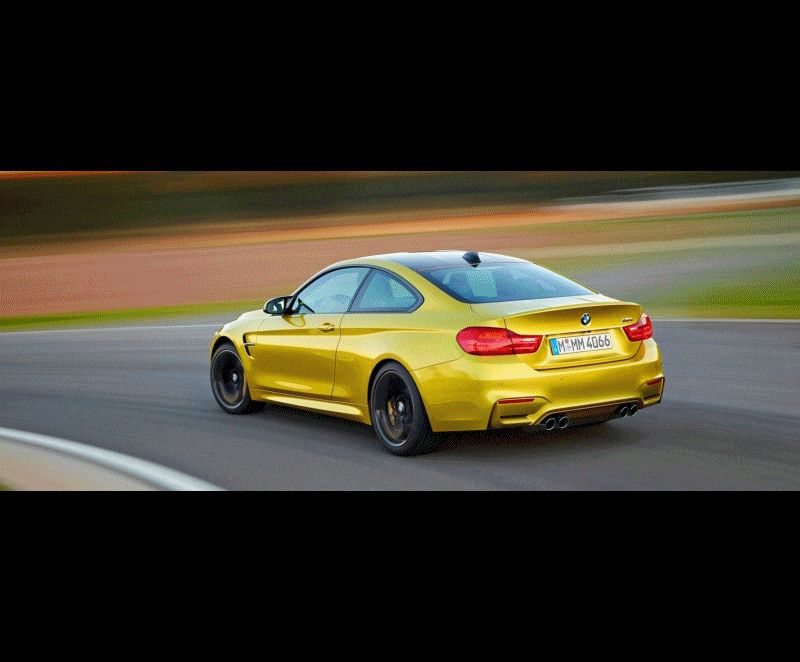 BMW M4 Animation GIF
