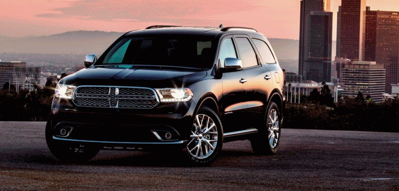 Coolest SUV Stance - Dodge Durango - Animated GIF