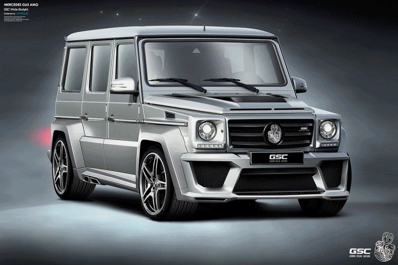 These wide-bodies from German Special Customs help illustrate the G-Class' popularity.