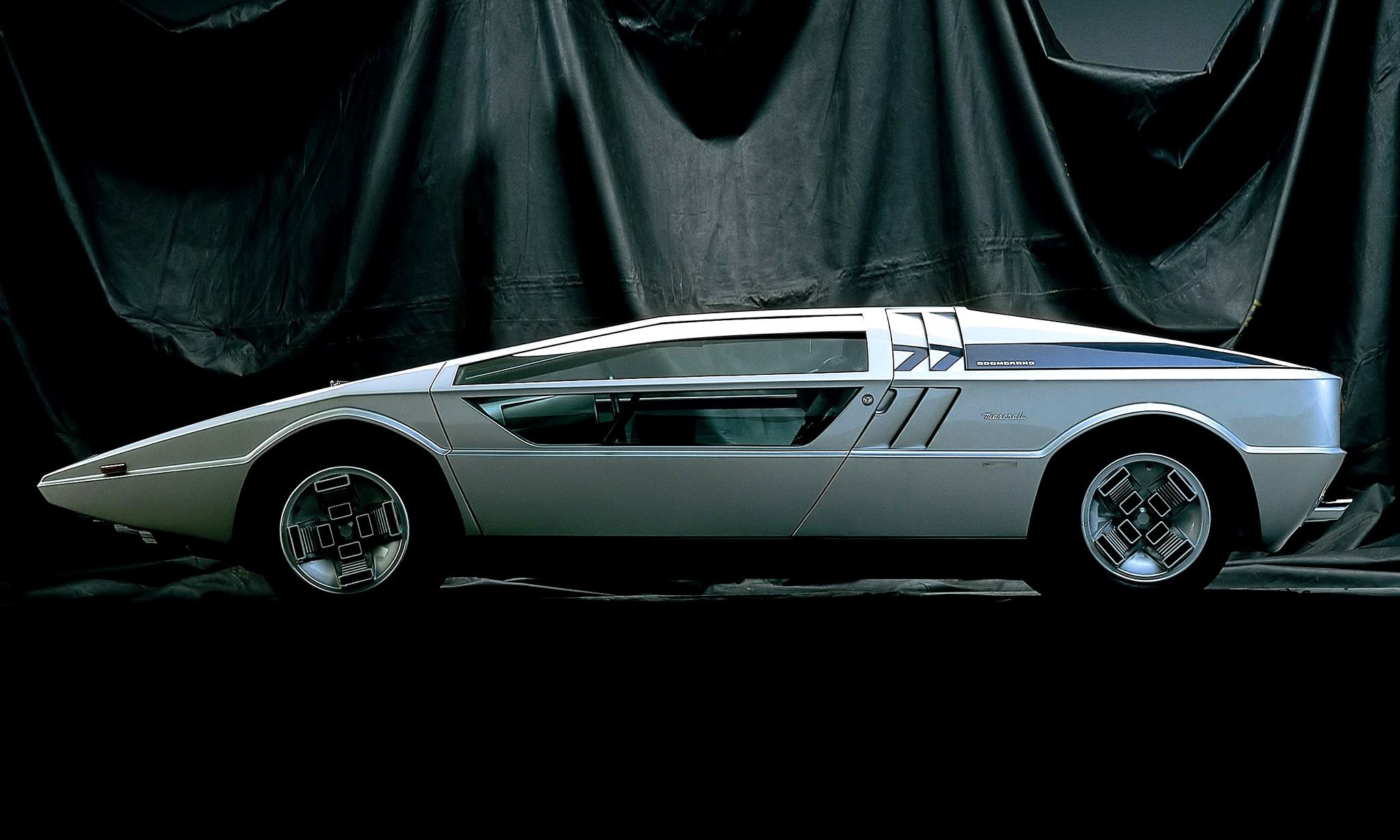 Concept Flashback 1972 Maserati Boomerang Was Production
