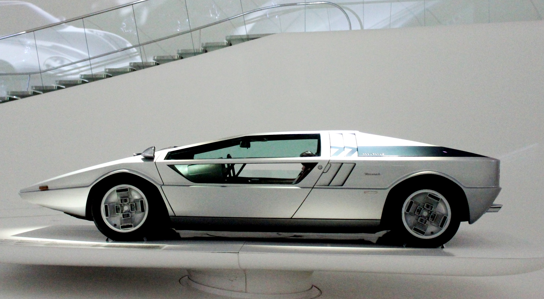 Concept Flashback 1972 Maserati Boomerang Was Production