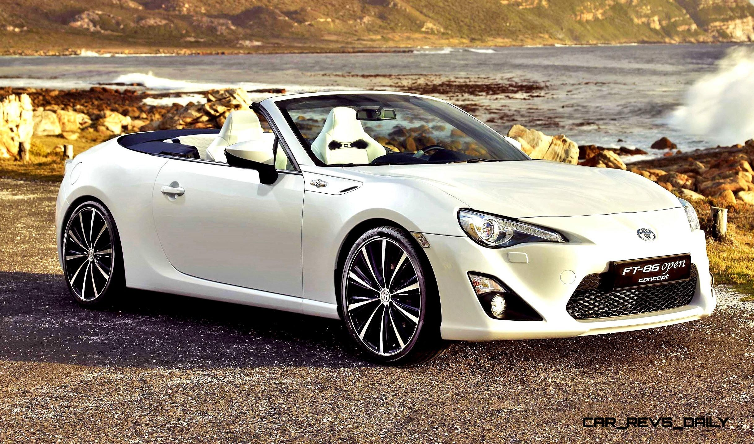 Toyota Ft 86 >> Concept Flashback - 2013 Toyota FT86 Open Concept is Stunning Ragtop