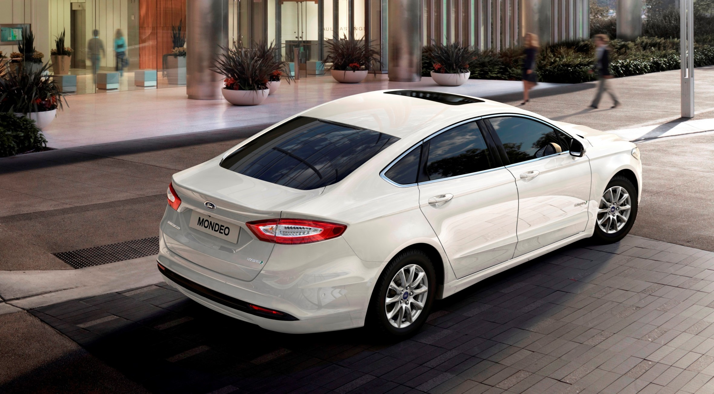 2015 ford mondeo brings new led headlights redesigned. Black Bedroom Furniture Sets. Home Design Ideas