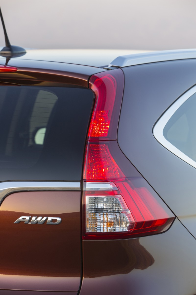 2015 Honda CR-V Revealed With More Torque, More Tech and New Touring Trim 12