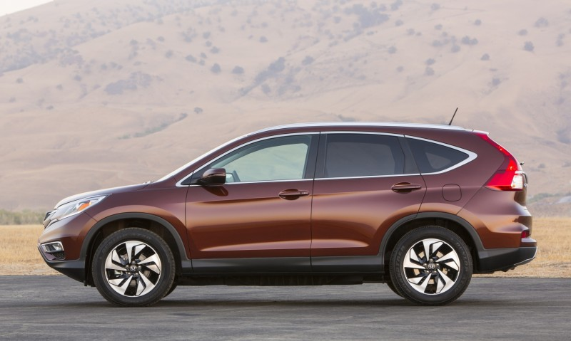 2015 Honda CR-V Revealed With More Torque, More Tech and New Touring Trim 16
