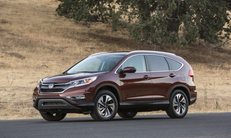 2015 Honda CR-V Revealed With More Torque, More Tech and New Touring Trim 19