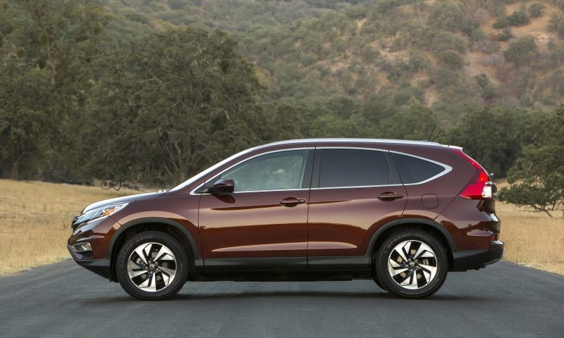 2015 Honda CR-V Revealed With More Torque, More Tech and New Touring Trim 20