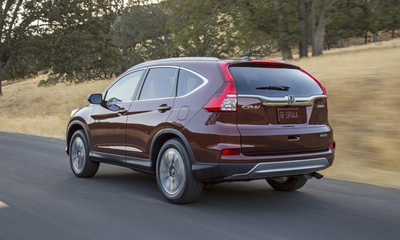 2015 Honda CR-V Revealed With More Torque, More Tech and New Touring Trim 21