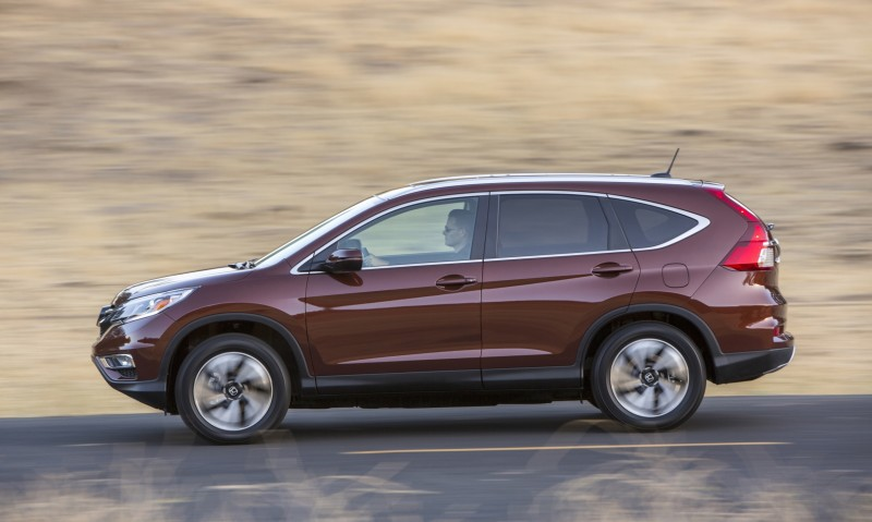 2015 Honda CR-V Revealed With More Torque, More Tech and New Touring Trim 22