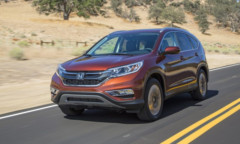 2015 Honda CR-V Revealed With More Torque, More Tech and New Touring Trim 23