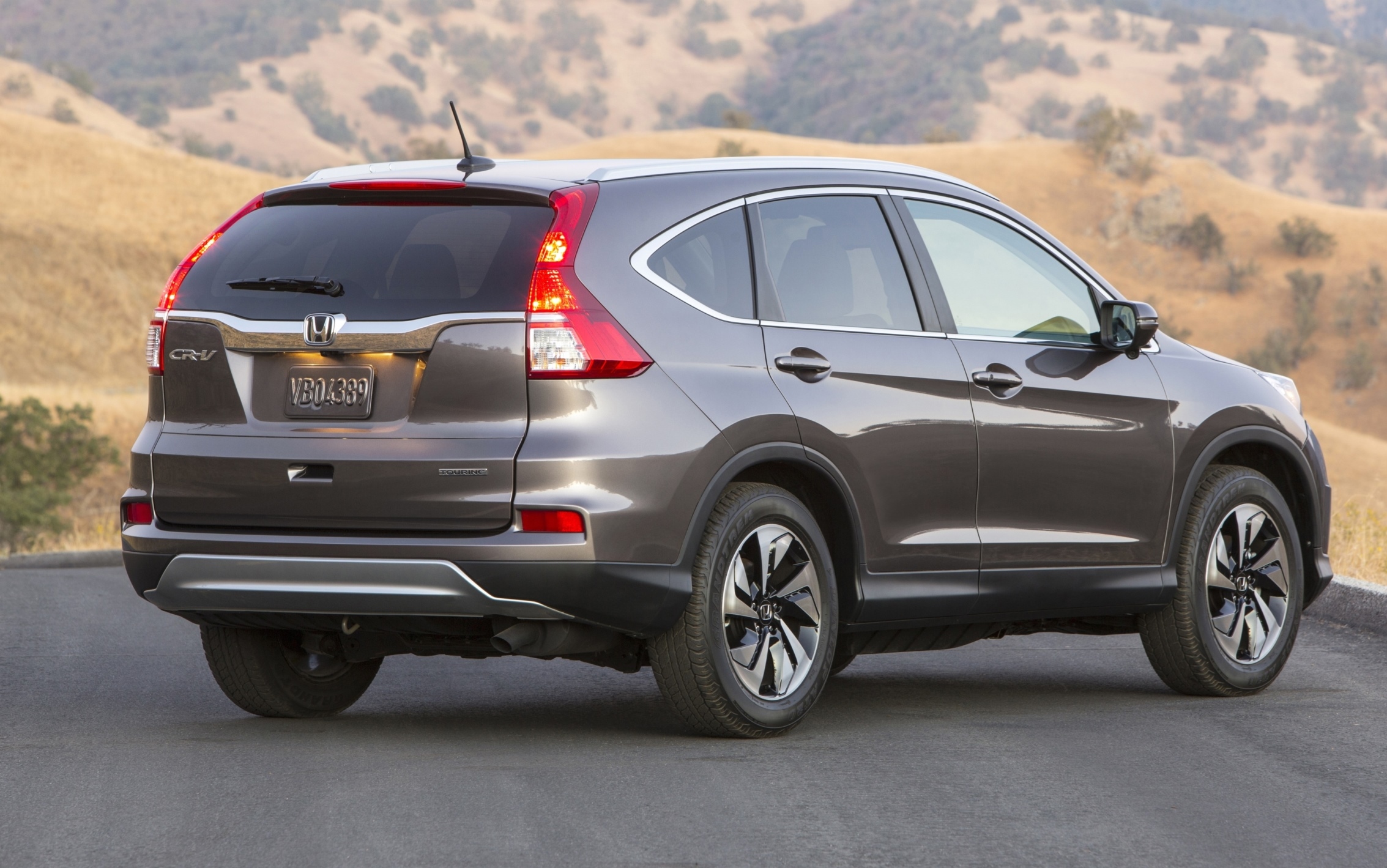 2015 Honda CR V Revealed With More Torque Tech And New Touring Trim