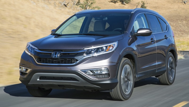 2015 Honda CR-V Revealed With More Torque, More Tech and New Touring Trim 33