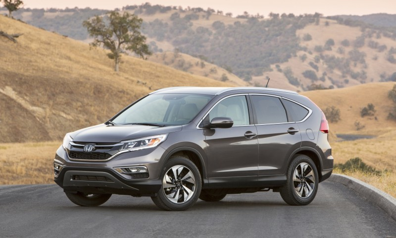 2015 Honda CR-V Revealed With More Torque, More Tech and New Touring Trim 34