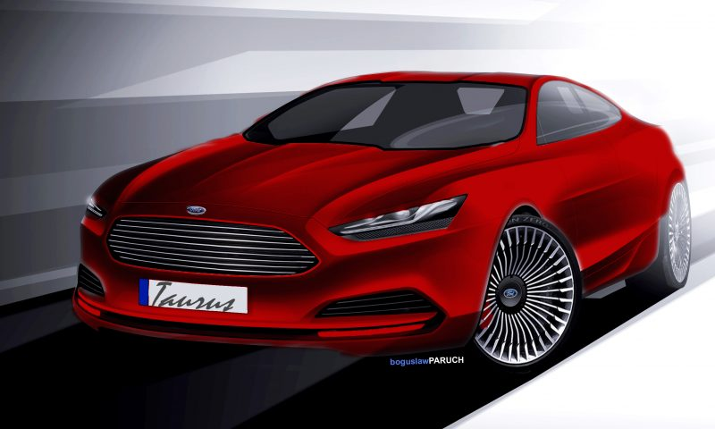 Ford Advanced Design Sketches Show Direction of 2016 Taurus Redesign Ford Advanced Design Sketches Show Direction of 2016 Taurus Redesign