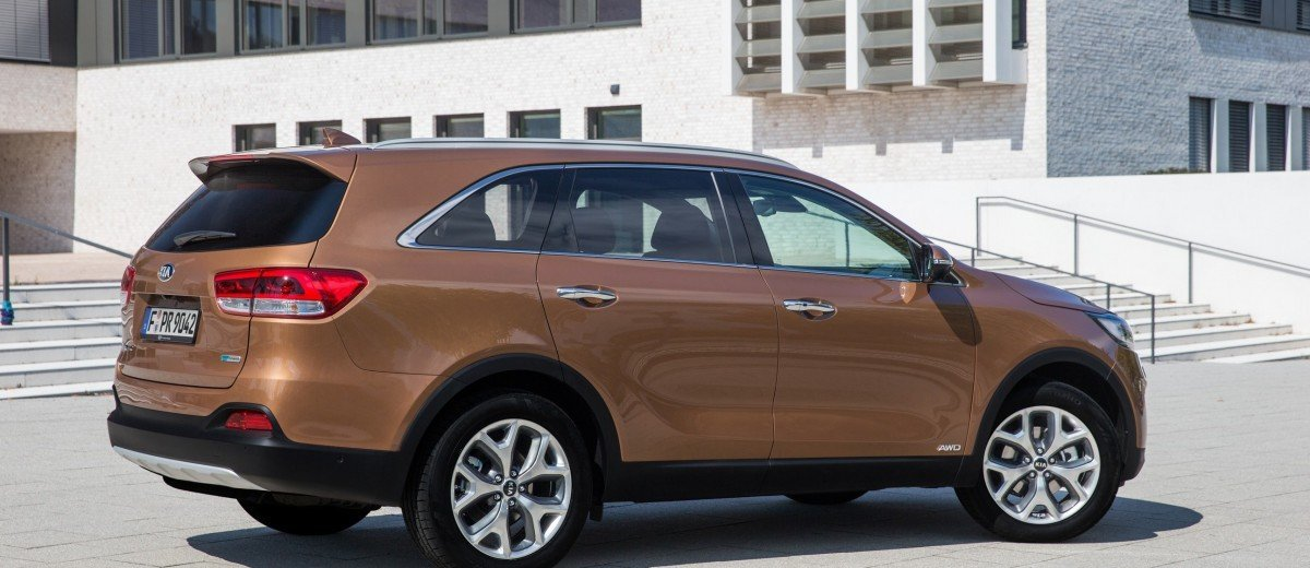 2016 kia sorento debuts in paris with jaguar baiting style at ford prices 48. Black Bedroom Furniture Sets. Home Design Ideas