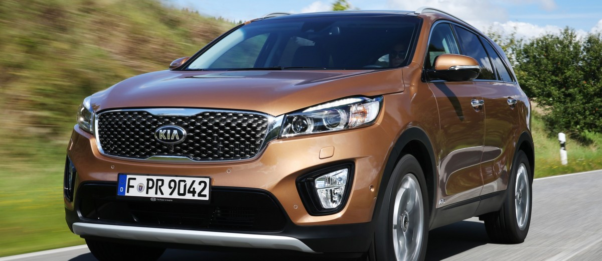 2016 kia sorento debuts in paris with jaguar baiting style at ford prices 55. Black Bedroom Furniture Sets. Home Design Ideas