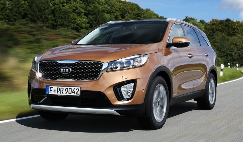 2016 Kia Sorento Debuts in Paris With Jaguar-Baiting Style at Ford Prices 60