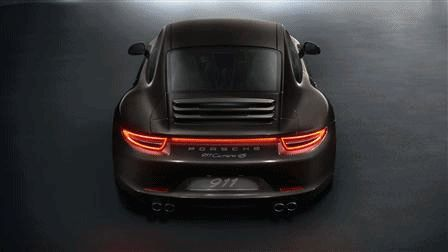 Porsche Carrera 4 and C4S Animated GIF