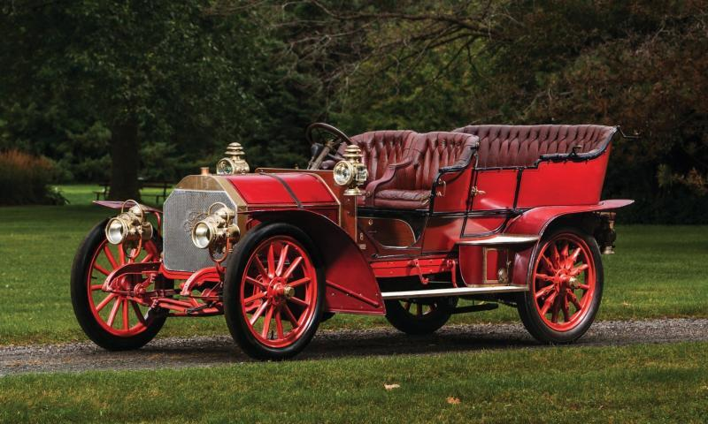 1905 FIAT 60HP Five-Passenger Tourer by Quinby  1