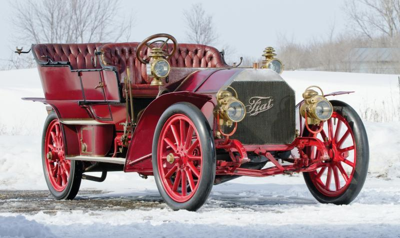 1905 FIAT 60HP Five-Passenger Tourer by Quinby  10