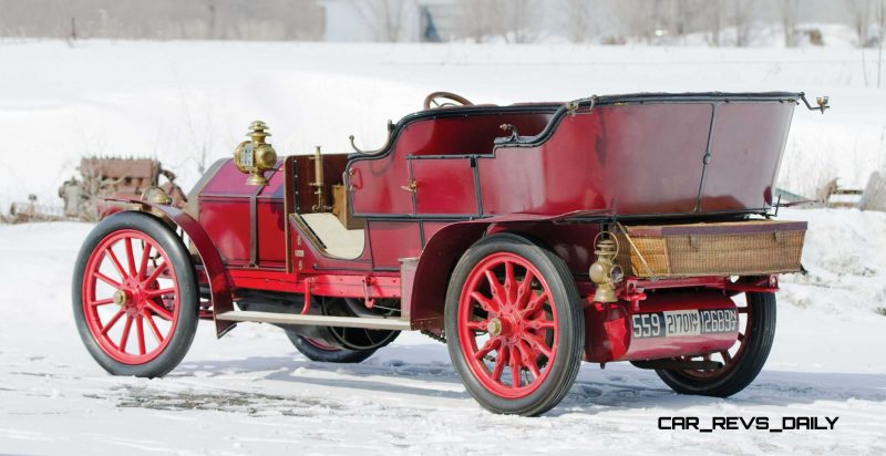 1905 FIAT 60HP Five-Passenger Tourer by Quinby  19