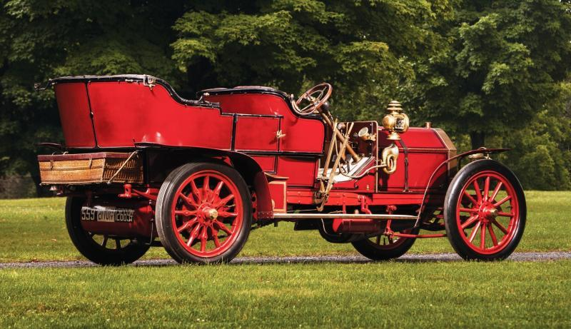 1905 FIAT 60HP Five-Passenger Tourer by Quinby 2