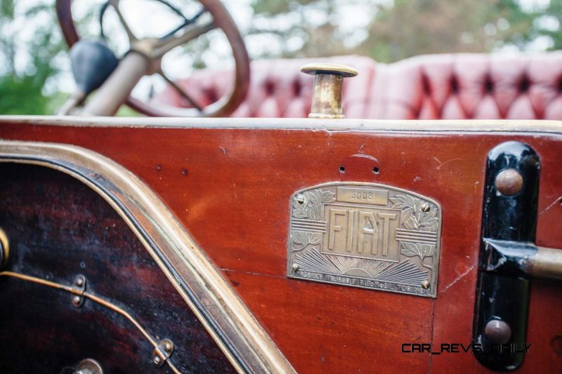 1905 FIAT 60HP Five-Passenger Tourer by Quinby  40