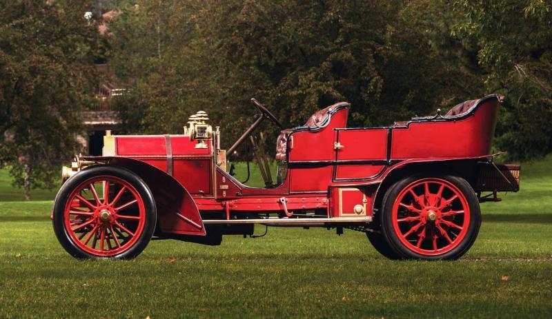 1905 FIAT 60HP Five-Passenger Tourer by Quinby  46