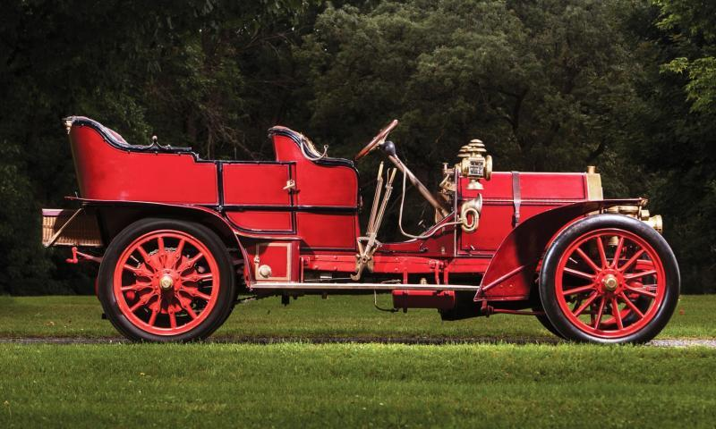 1905 FIAT 60HP Five-Passenger Tourer by Quinby 5