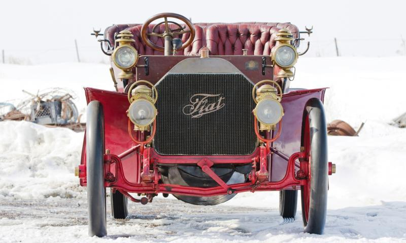 1905 FIAT 60HP Five-Passenger Tourer by Quinby  54