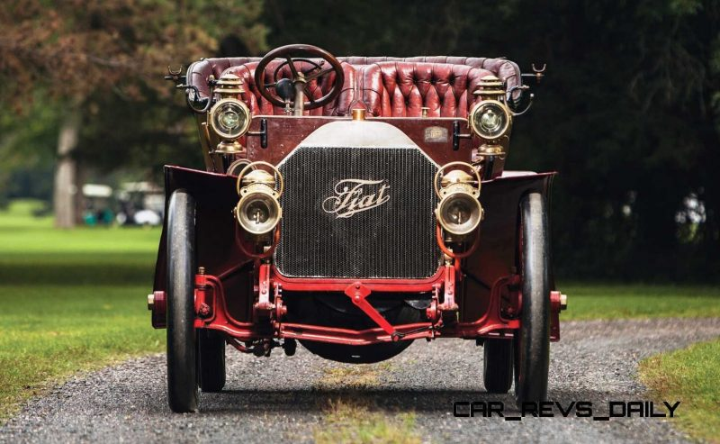 1905 FIAT 60HP Five-Passenger Tourer by Quinby  6