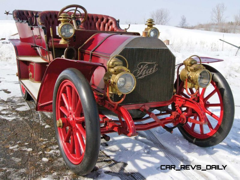 1905 FIAT 60HP Five-Passenger Tourer by Quinby 67